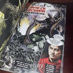 12 TWELVE FOOT NINJA Silent Machine Comic 1st Pr 2012 OOP Hand Signed Autograph
