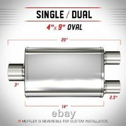 13288 Magnaflow Muffler New Oval