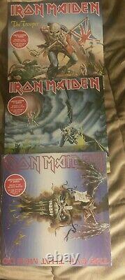 (15) Iron Maiden 7 Vinyl NEW SEALED, Aces, Wrathchild, Hills, Purgatory, Beast, Free