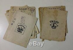 15 Pcs Shanghai Hong Kong Taiwan 78 rpm Lyric Sheet Chinese Pathe Parlophone Etc