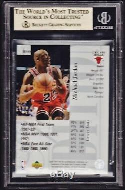1995-96 Ud Special Edition #100 Michael Jordan Bgs Gem Mint 9.5. Silver Foil