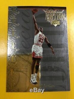 1995-96 Upper Deck Special Edition GOLD #SE100 Michael Jordan Near Mint-MINT