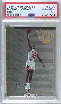 1995-96 Upper Deck Special Edition Gold Michael Jordan #SE100 PSA 8.5 HOF