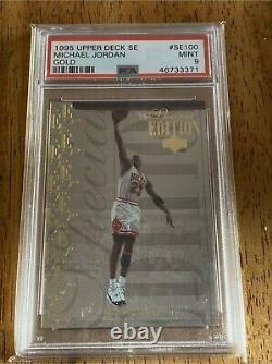 1995 Upper Deck Michael Jordan Special Edition Gold SE100. Chicago Bulls PSA 9