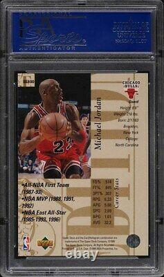 1995 Upper Deck Special Edition Gold Michael Jordan #SE100 PSA 9 MINT