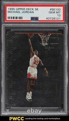 1995 Upper Deck Special Edition Michael Jordan #SE100 PSA 10 GEM MINT