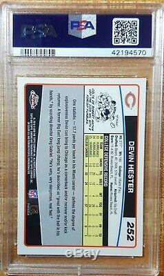 2006 Topps Chrome DEVIN HESTER Special Edition Rookie Card RC PSA 10 GEM MINT