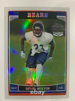 2006 Topps Chrome Refractor Devin Hester #252 SPECIAL EDITION Rookie MINT