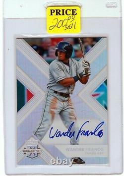 2018 Elite Extra Edition Auto. #67 Wander Franco RC Rookie @@see scans@@ xy3zA