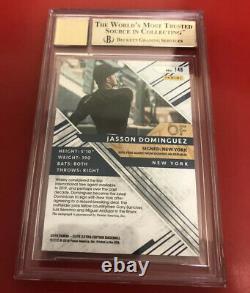 2019 Elite Extra Edition Jasson Dominguez Emerald Auto BGS 9.5/10 Yankees /25