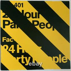 24 Hour Party People 12 Single Factory Uk 2001 Joy Division New Order Various
