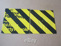 24 Hour Party People RARE FACTORY 12 PROMO JOY DIVISION NEW ORDER HAPPY MONDAYS