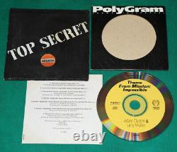 Adam Clayton & Larry Mullen Theme From MissionImpossible BRAZIL 96 PROMO CD U2