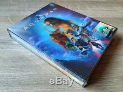 Aquaman HDzeta Exclusive 4K UHD Blu-ray Steelbook Single Lenticular New Sealed