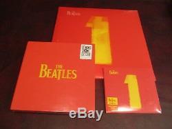 BEATLES Best 27 #1 Hits Sealed 2 LP ORIGINAL 2000 RELEASE + 45 BOX SINGLES + CD
