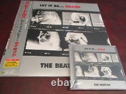 BEATLES Let It Be Naked JAPAN 1ST EDITION ORIGINAL OBI LP +7SINGLE + BOOK + CDS
