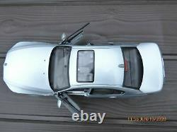 BMW M5 E60 118 V10 Last Aspirated Toy Car Individual Aventurine Silver Metallic