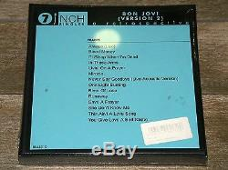BON JOVI VERSION 2 RETROSPECTIVE 7 VINYL SINGLES COLLECTOR'S BOX New