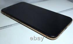 Bad FMI-On LIST-CLEAN Cracked Apple iPhone XS Max a1921 Gold Verizon CDMA GSM
