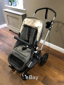 Bugaboo Cameleon 3 Grey Melange Special Edition with Footmuff And Cupholder