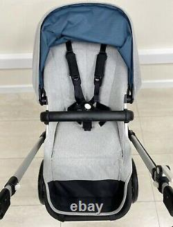 Bugaboo Cameleon 3 Special Edition Elements Full Travel System In Grey Blue