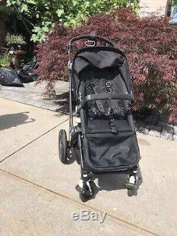Bugaboo Cameleon All Black Special Edition Travel System Stroller & Bassinet