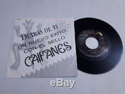 CAIFANES Detrás De Ti 1990 Sencillo PROMO 7 45rm Vinil ¡MUY RARO