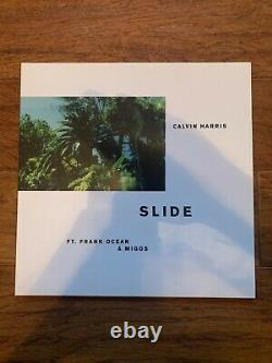 Calvin Harris, Migos, Frank Ocean Slide (Single 12) Rare Picture Disc Vinyl
