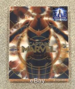 Captain Marvel Fanatic Collection Single Lenticular (Limited 250 Copies)