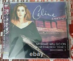 Celine Dion -My heart will go on. Dance Mixes-2 /CD, Maxi-Single, 9 tracks, 1998