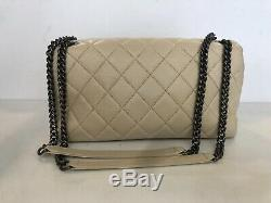 Chanel Special Edition Rue 31 Cambon Light Beige Single Medium Flap Bag