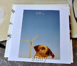 Coil Ape Of Naples/ New Backwards Signed Peter Christopherson Red Vinyl 4xLP Box