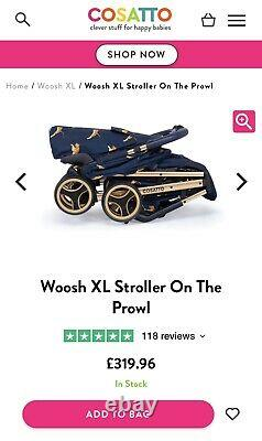 Cossato Woosh XL Stroller On The Prowl (Special edition Paloma Faith) RRP £319