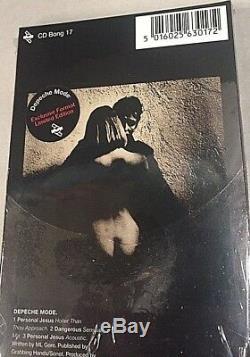 DEPECHE MODE PERSONAL JESUS XLCDBong17 CD MINI LONGBOX 3 21x9,5 -SEALED