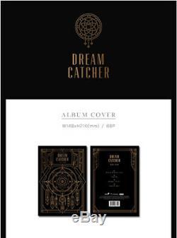 DREAM CATCHER NIGHTMARE// 1st Single Album CD+Photo Book+Card K-POP SEALED