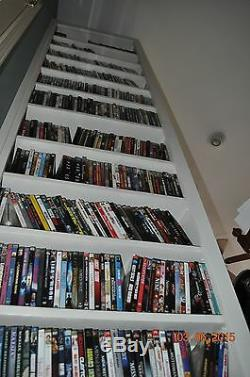DVD COLLECTION in INDIVIDUAL LOTs of 600 DVDs