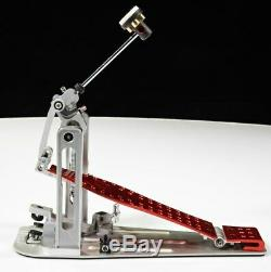DW USA Machined Direct Drive Single Pedal Special Edition Red
