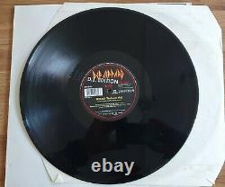 Def Leppard Love Bites 12 D. J. Edition Single Signed Autographed