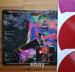 Depeche Mode 3-LP RED/Pink Vinyls The Italian Job LIVE Global Spirit Rome 2017