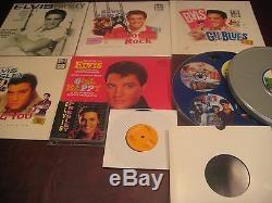 Elvis Presley Greatest Rare Movie Soundtracks Vinyl Ep Singles Lp's + Books+ Cds