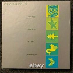 Erasure Singles 1, 2, 3, 4 LOT of FOUR BOX SETS 20 CDs MEGA RARE Import UK Mute