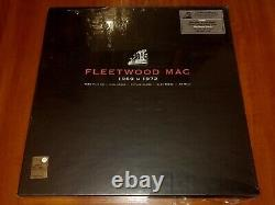FLEETWOOD MAC 1969 1972 LTD 4x LP & 7 SINGLE EU REMASTERED VINYL BOX SET New