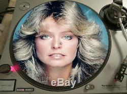 Farrah Fawcett Charlie's Angels Opening Credits Team Rare 12 Picture Disc LP