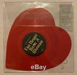 Father John Misty I Love You Honeybee Signed Autographed Heart RSD Vinyl Record