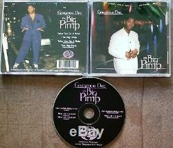 GORGEOUS DRE The Big Pimp / Take A Ride MISPRINT CD SINGLE! RARE Cali G-FUNK RAP