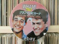 George Michael Wham! Club Tropicana Rare 12 PD LP (The Best Of Greatest Hits)
