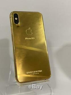 IPhone XS 256GB 24kt Gold Special Edition / Single Sim / Space Gray