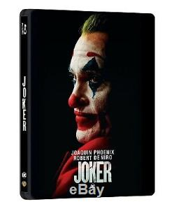 Joker Steelbook Manta Lab Single Lenticular 4k And Blu-ray #965/1000 Sold Out
