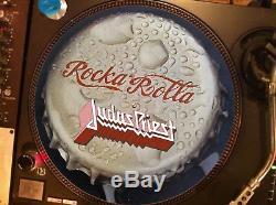 Judas priest Rocka Rolla (Coca Cola) Mega Rare 12 Picture Disc Single LP
