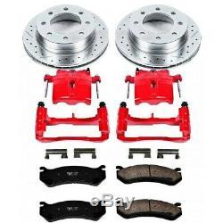KC1719 Powerstop Brake Disc and Caliper Kits 2-Wheel Set Rear for Chrysler 300